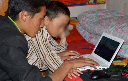 Tibet: Tibetans are passionate computer users, but installing Tibetan fonts and keyboards remains a nightmare.