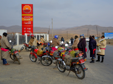 Tibet: Motorbikes have done a lot to alleviate the isolation of Tibetan farmers and herders.