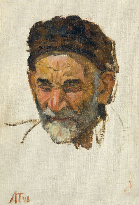 Leonid Tkachenko: A Head of Old Man