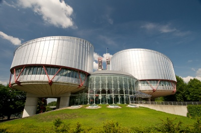 The Human Rights Building of the Council of Europe in Strasburg, Germany: A face sneering at the UN human rights concept? Photo: Council of Europe.