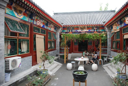 A traditional hutong in Beihing which has been carefully restored and opened to the public by the owner.